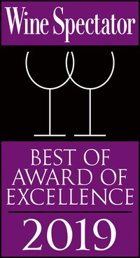Auszeichnung Wine Spectator Best of Award of Excellence 2019